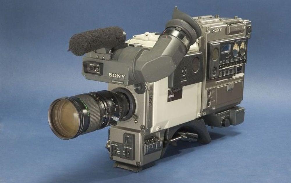 4. Videocámaras Betamax, 1983