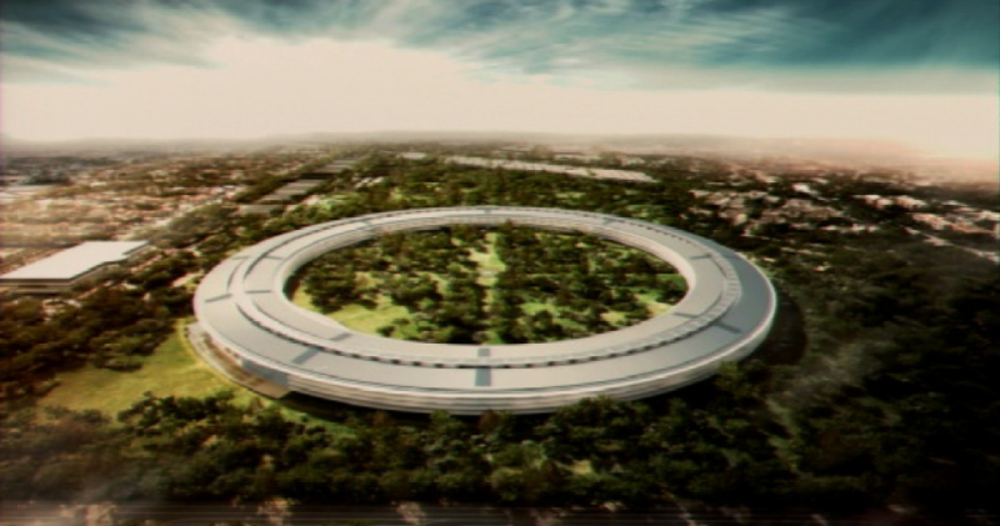 Steve Jobs didn't want it to be like any old office park.