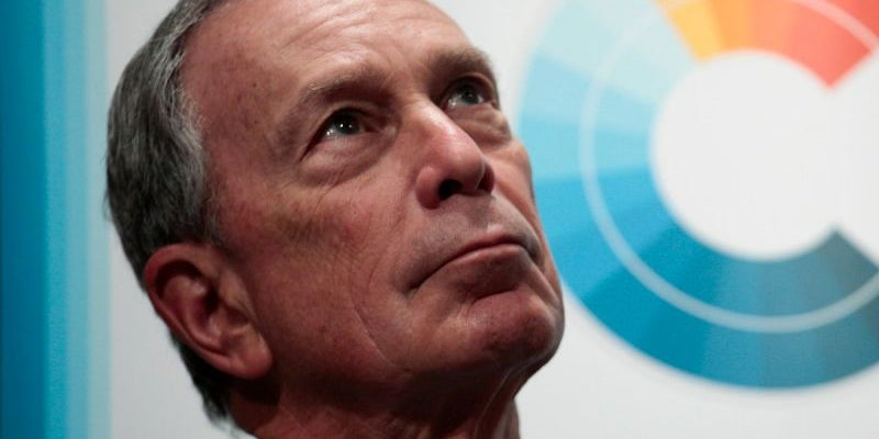 Michael Bloomberg, CEO of Bloomberg LP
