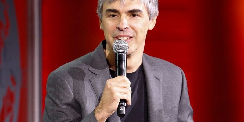 Larry Page, Google cofounder and CEO of Alphabet Inc.