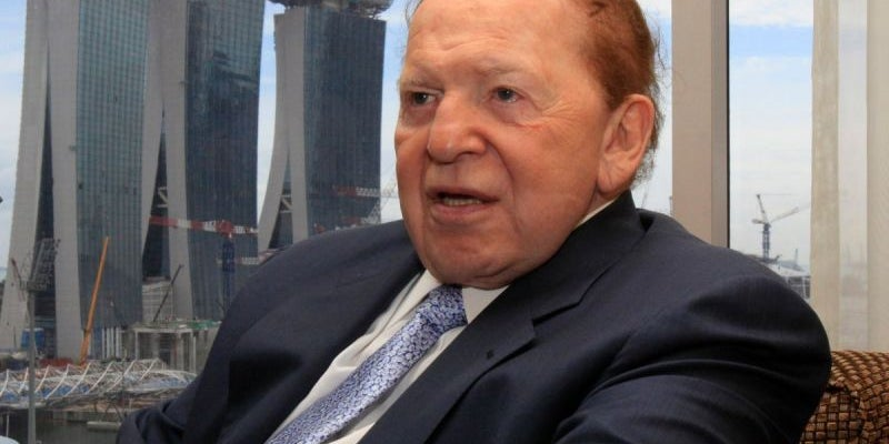 Sheldon Adelson, chairman and CEO of Las Vegas Sands Corporation