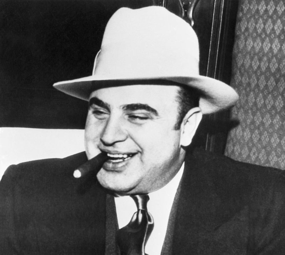 Al Capone believed in safety first.