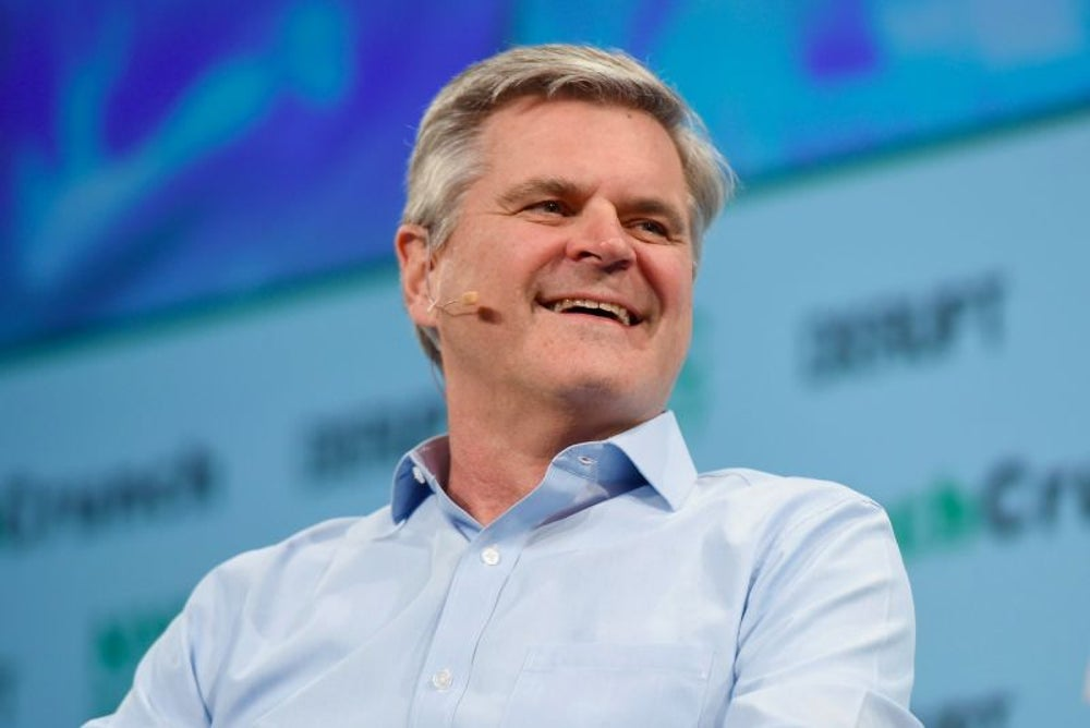 Steve Case surrounds himself with thinkers.