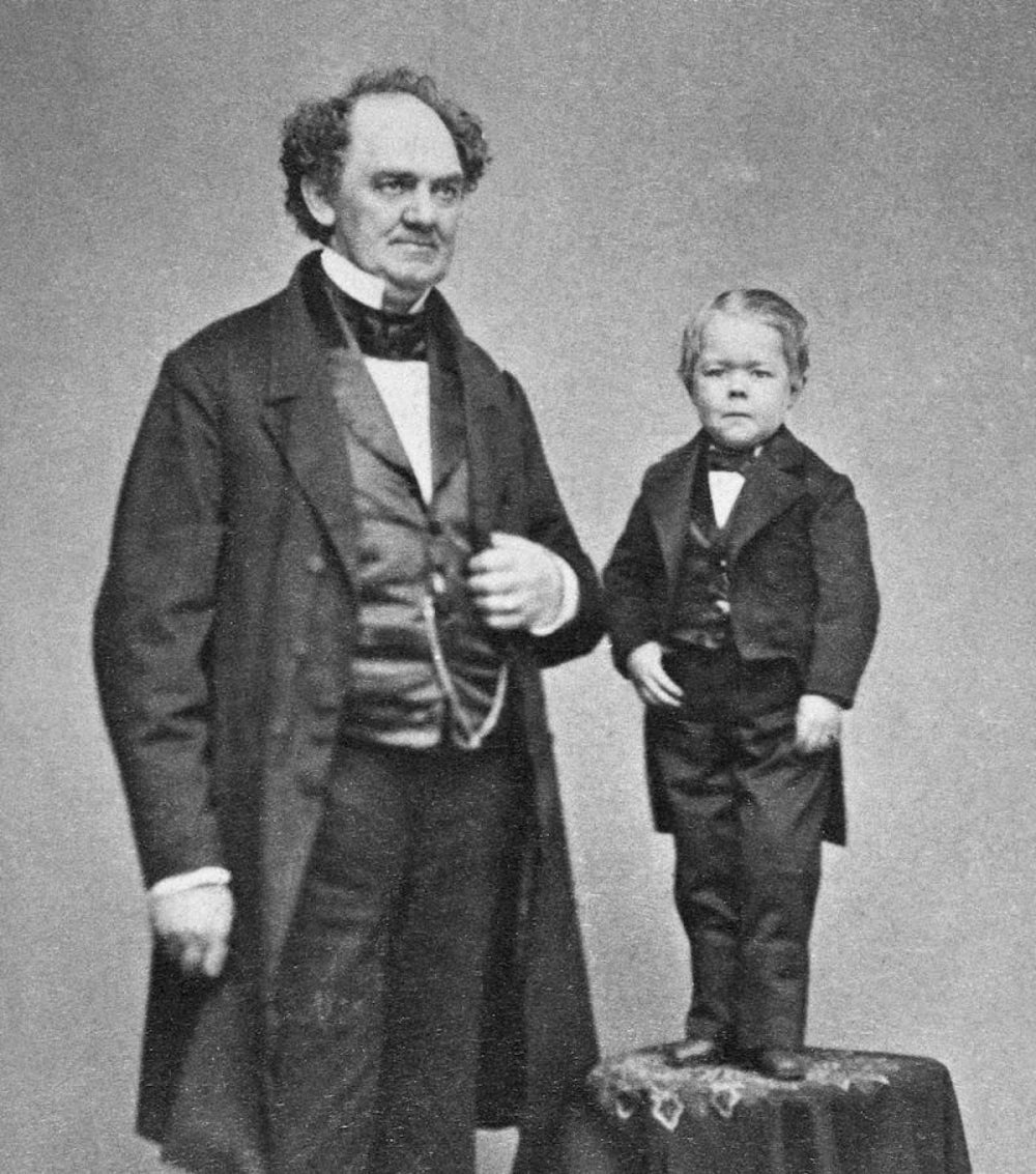 P.T. Barnum used big words for big effect.