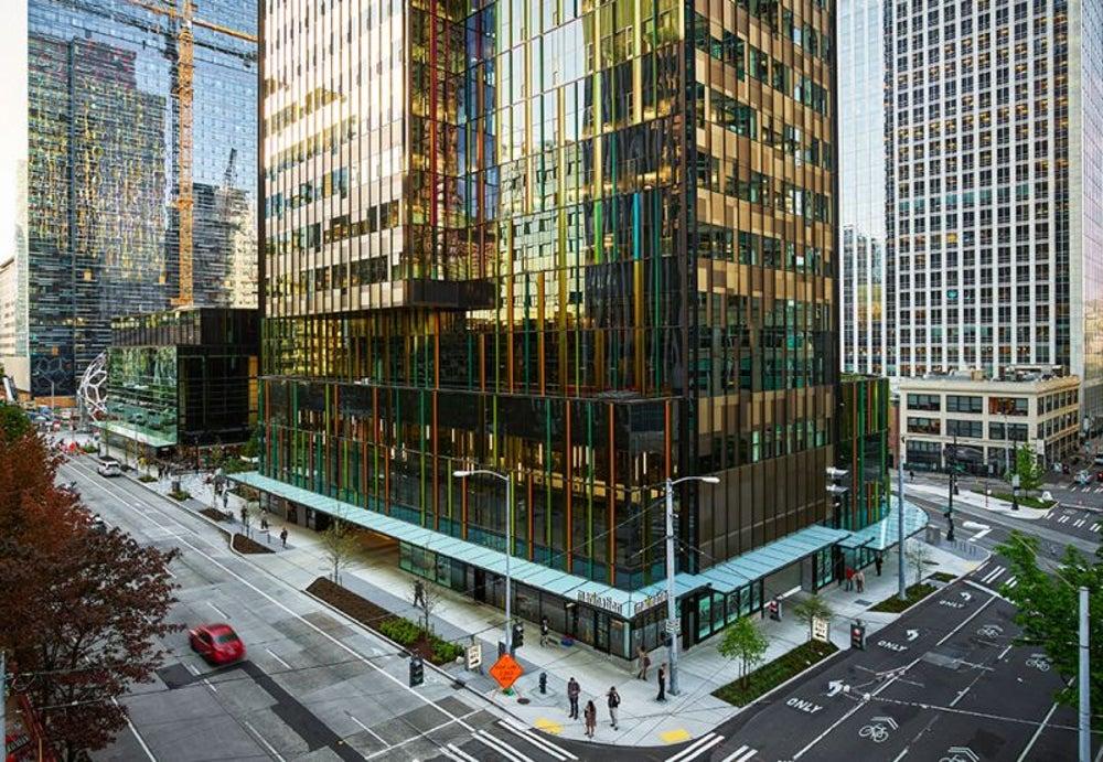 Amazon is making its presence felt in Seattle.