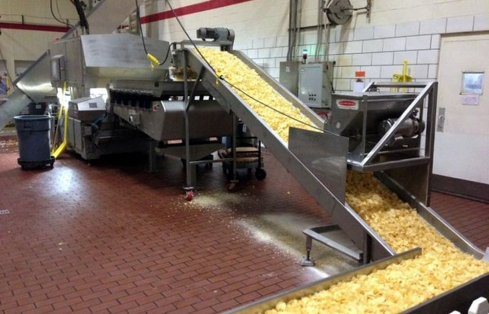 Martin's Potato Chip Factory Tour