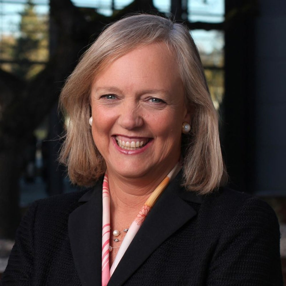 Meg Whitman, CEO of Hewlett Packard Enterprise -- $32.9 million