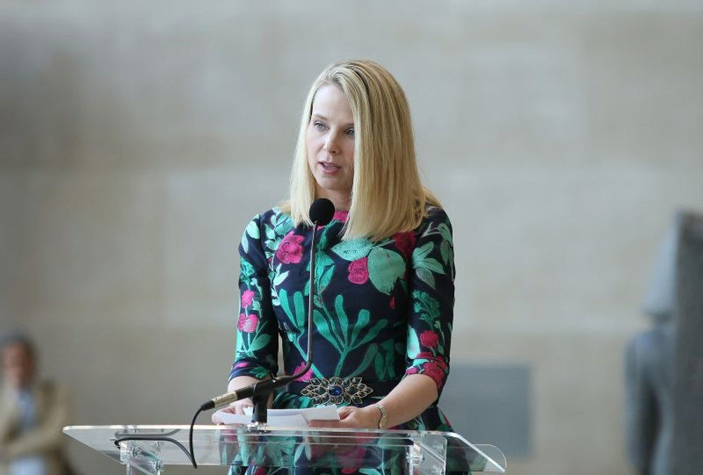Marissa Mayer, CEO of Yahoo -- $27.4 million