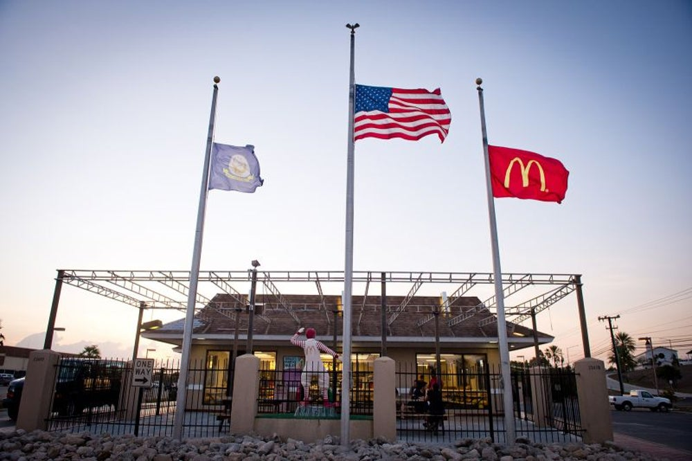 McDonald's at Guantanamo Bay
