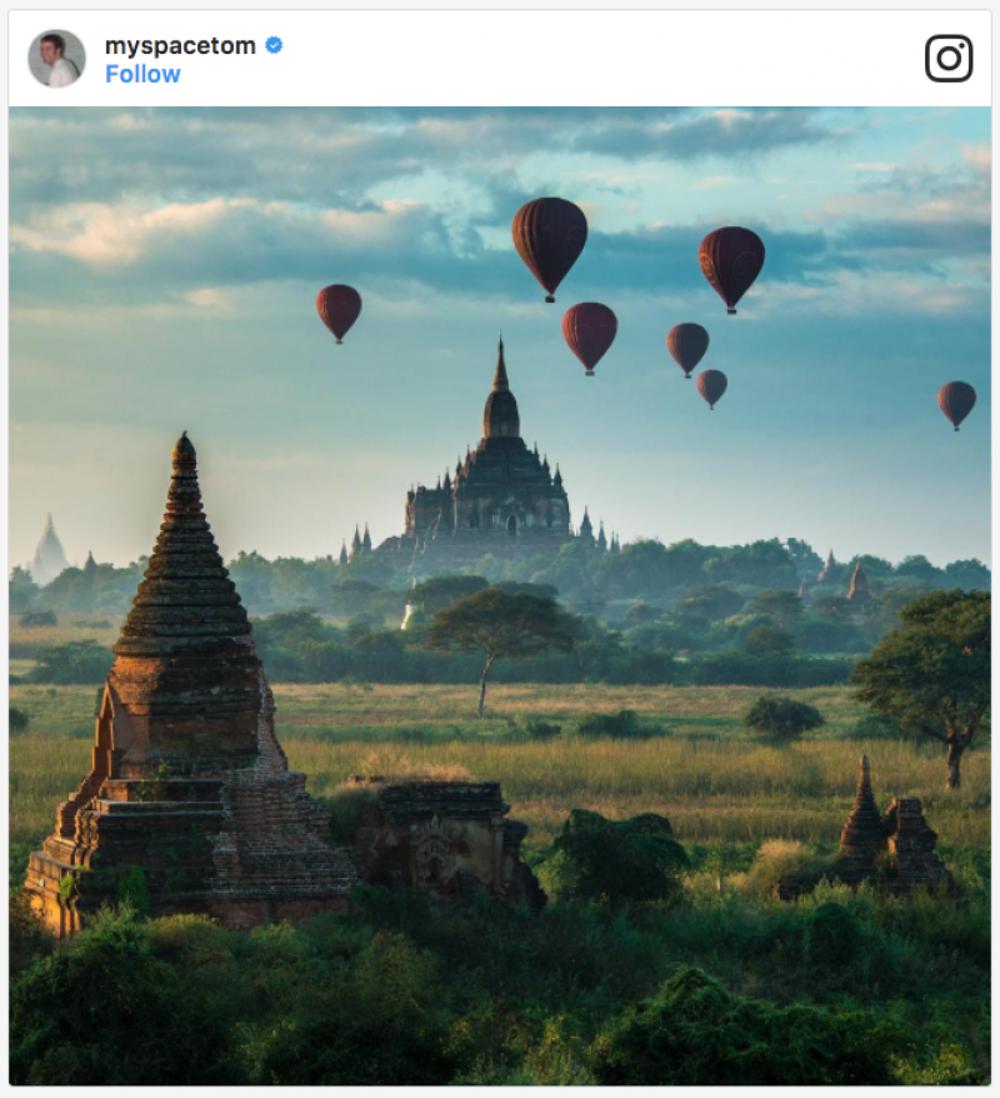 In Bagan, Burma