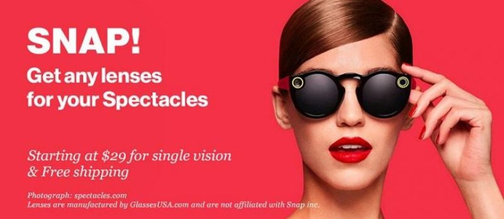 Make a Spectacles of Yourself