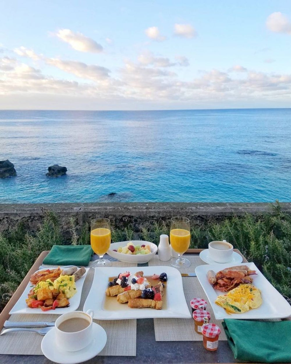 'Brunching in Bermuda'