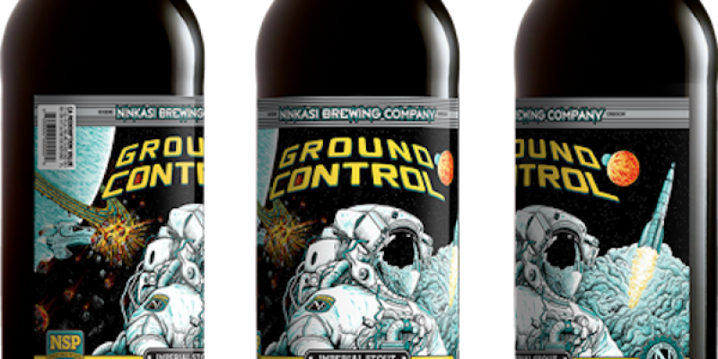 Elon Musk paired with Ninkasi Ground Control