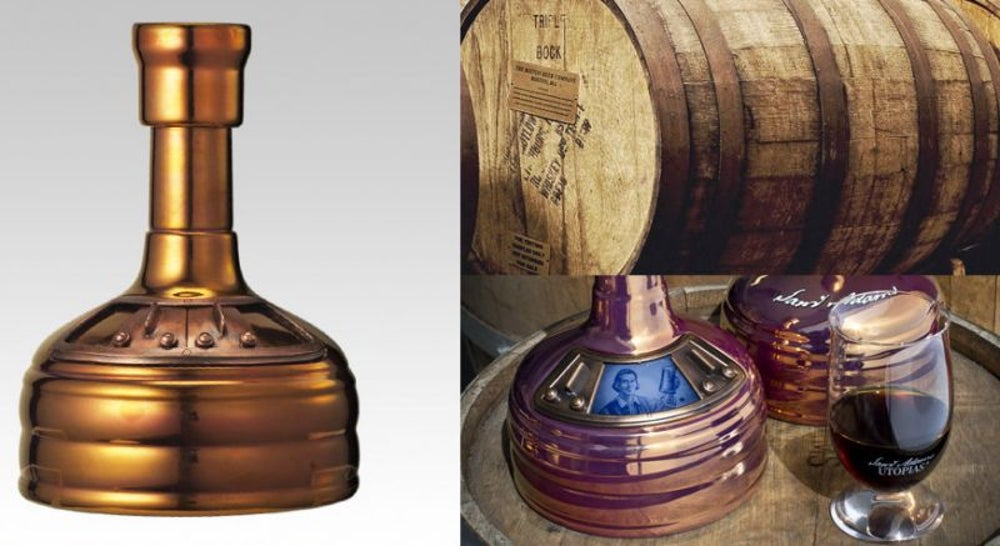 Warren Buffett paired with Sam Adams Utopias