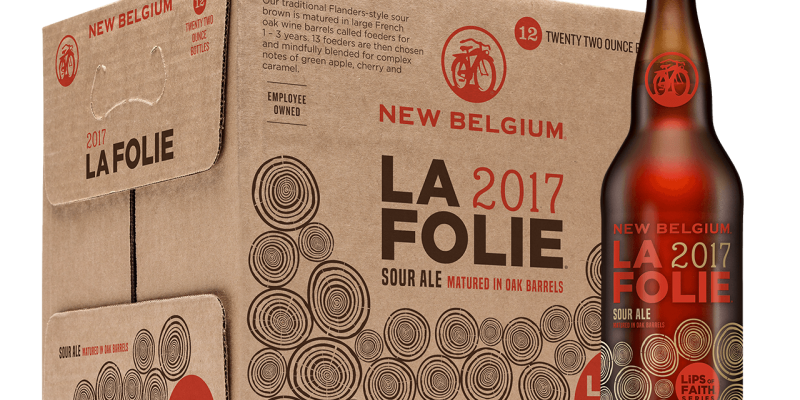 Sheryl Sandberg paired with New Belgium's La Folie