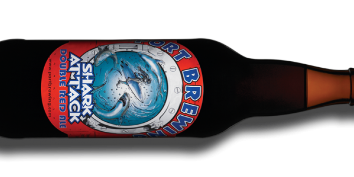 Daymond John paired with Port Brewing Company's Shark Attack