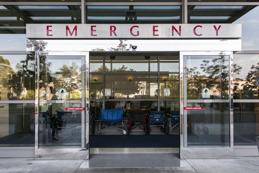 A local hospital