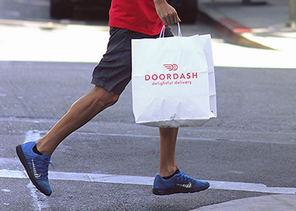 DoorDash, $100