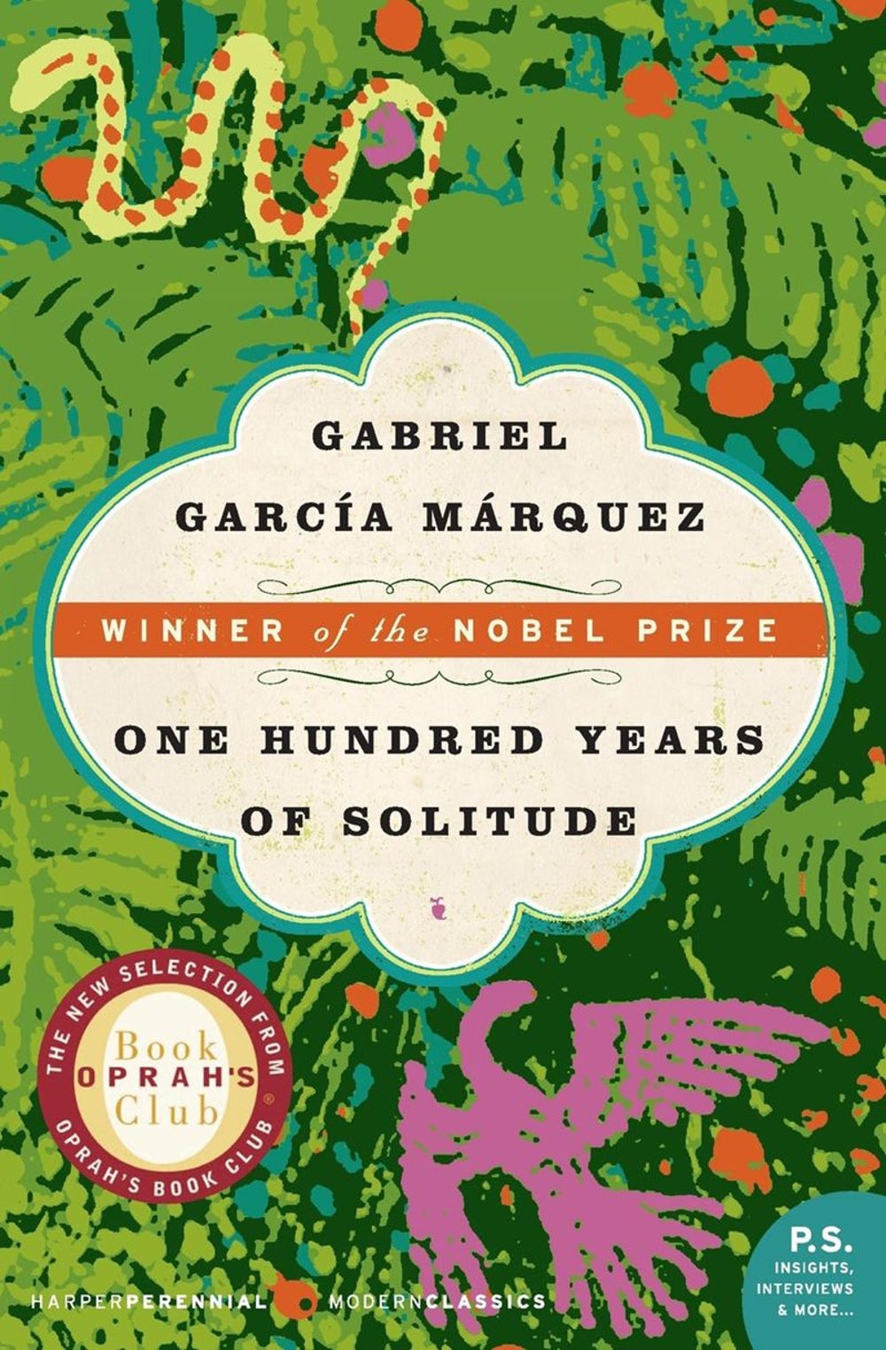 Associate Editor, Contributed Content Matthew McCreary -- 'One Hundred Years of Solitude' by Gabriel Garcia Márquez