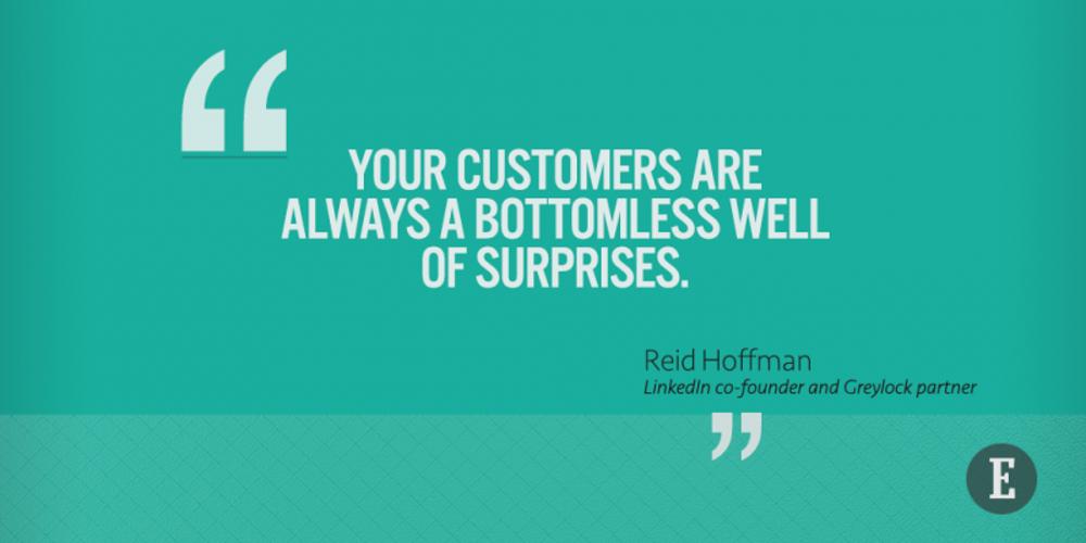 Seek surprises.