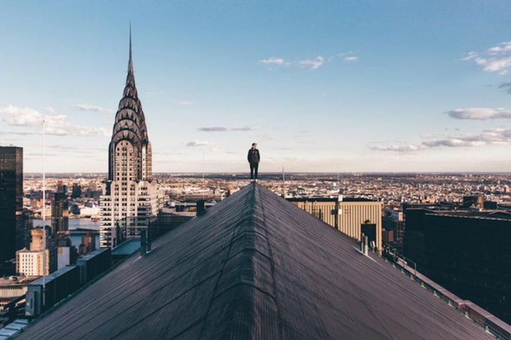 Rooftop adventure