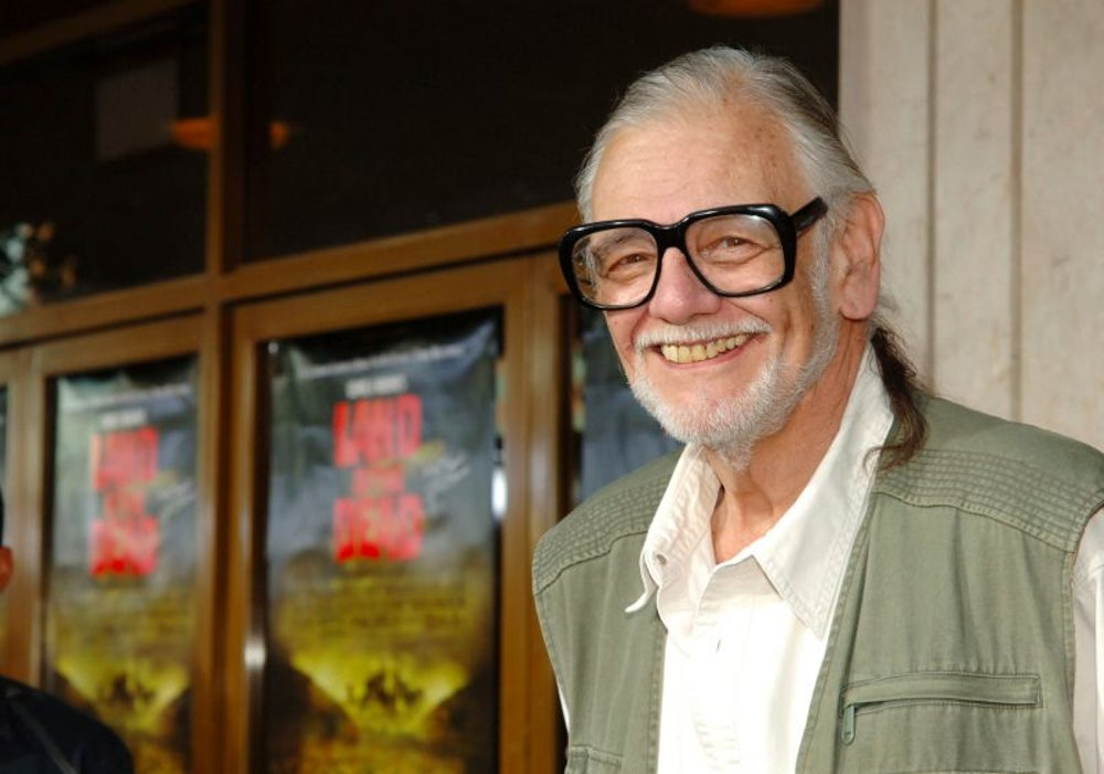 George A. Romero, the famous horror film director