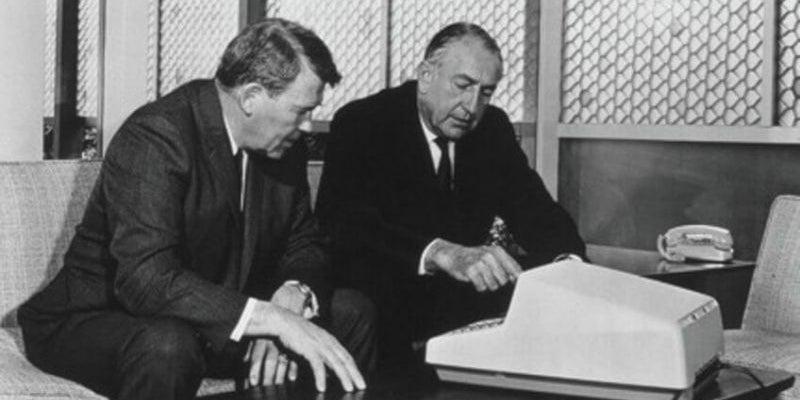 Bill Hewlett and Dave Packard: HP
