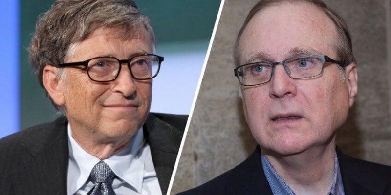 Bill Gates and Paul Allen: Microsoft