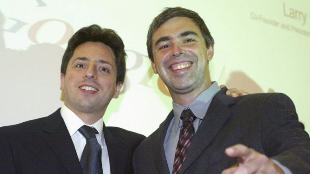 Larry Page and Sergey Brin: Google