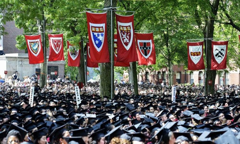 She graduated summa cum laude from Harvard.