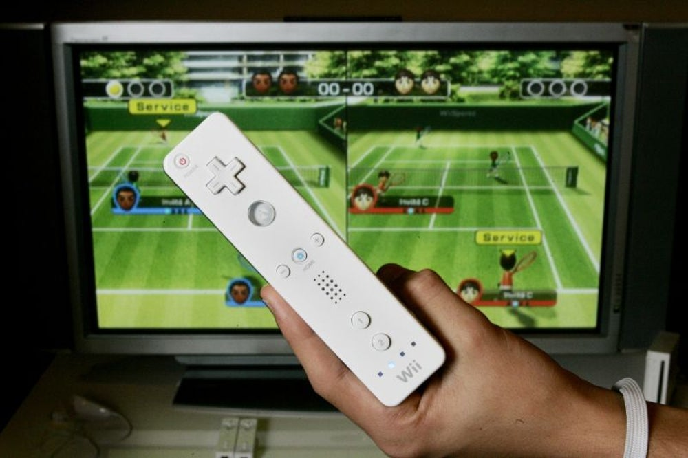 Wii Tennis wiz