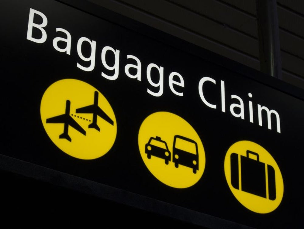 Don't check luggage.