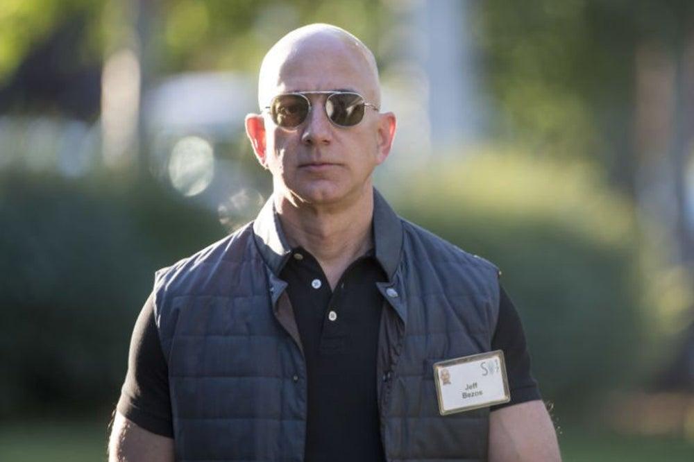 Jeff Bezos, 8 hours