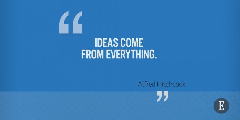 On ideas.