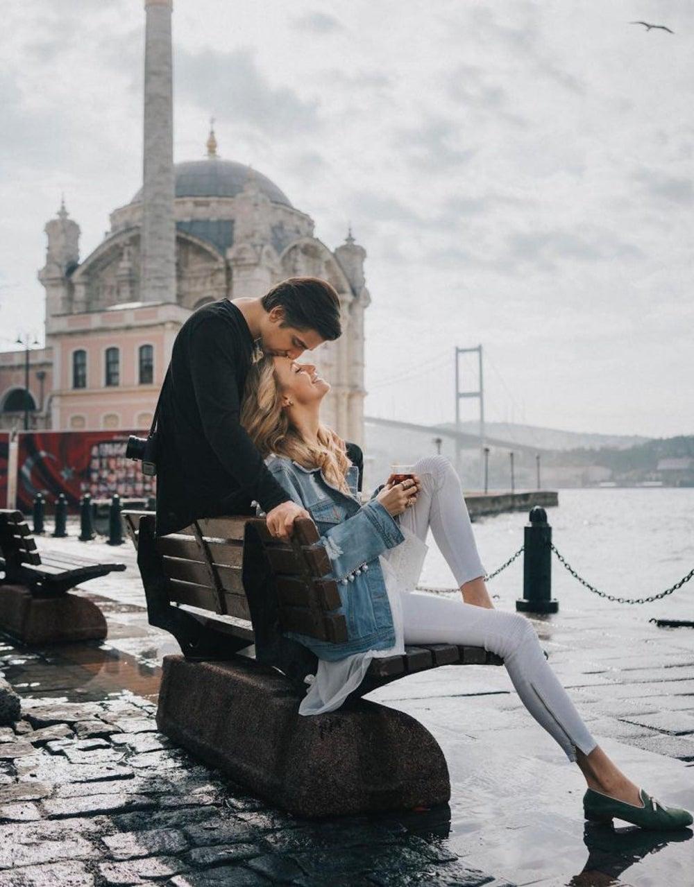 Ortakoy Mosque, Istanbul promenade, Turkey