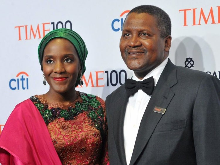 richest black billionaire Aliko Dangote