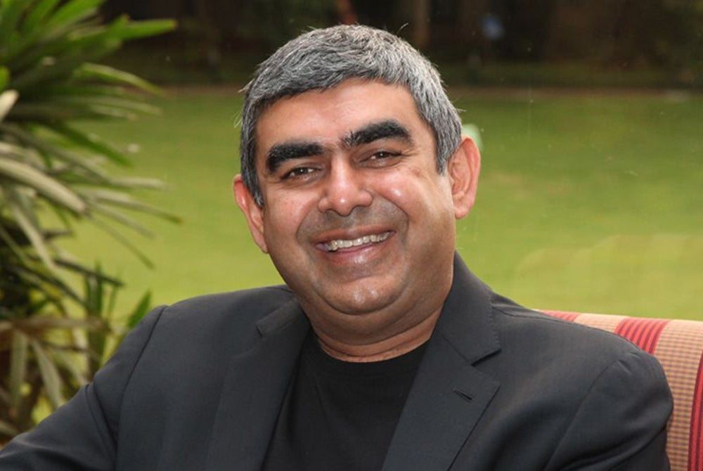 Vishal Sikka @vsikka (201K - Twitter Followers)