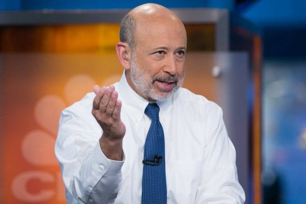 Lloyd Blankfein, CEO and chairman of Goldman Sachs