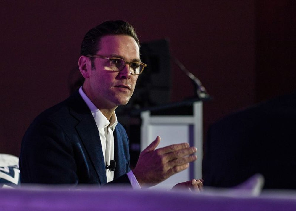 James Murdoch, CEO of 21st Century Fox