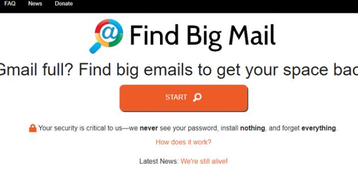 Delete big messages