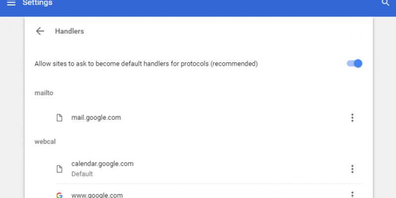 Make Gmail handle links
