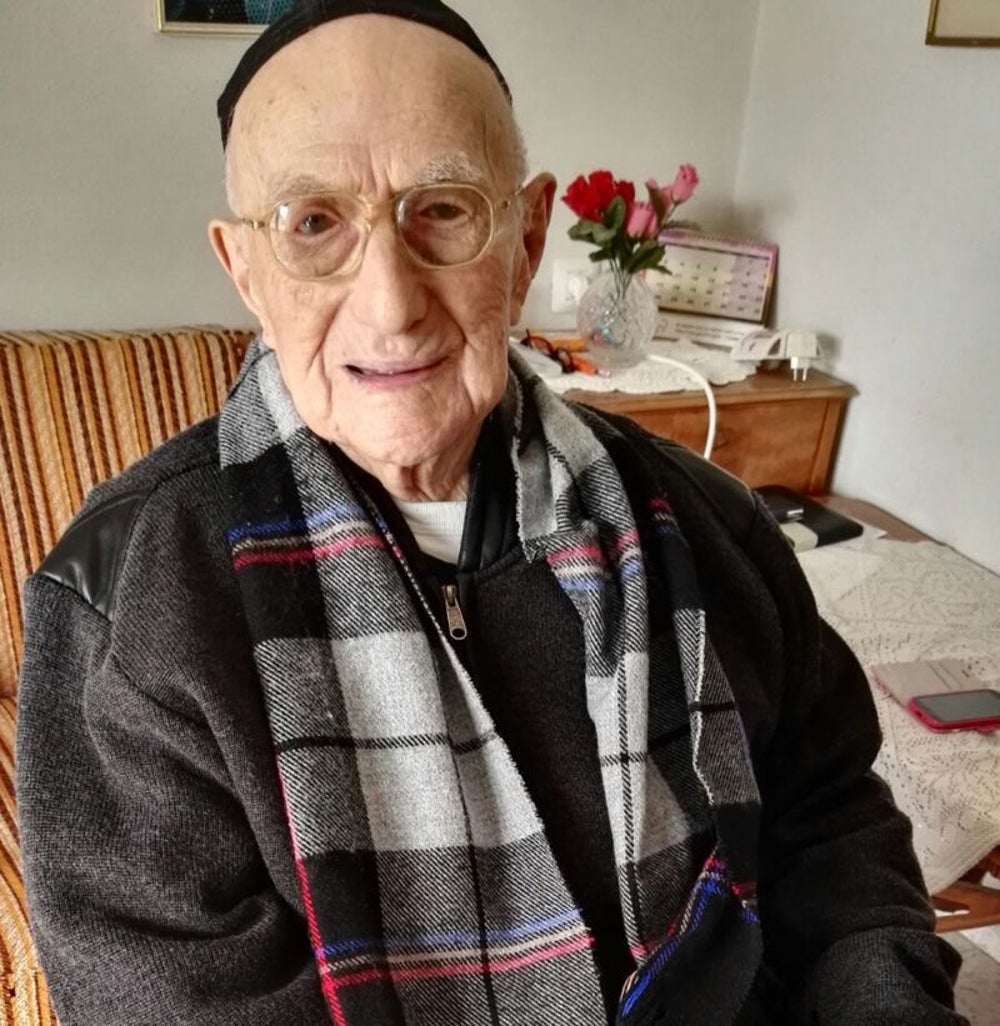Yisrael Kristal, the oldest man in the world