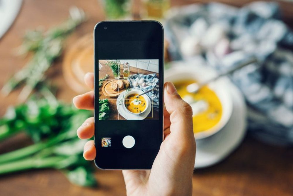 "Posting ""food porn"" on Instagram can help you lose weight."