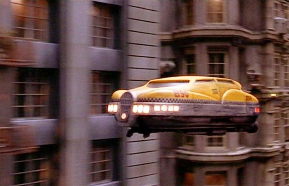 It's an astronaut taxi