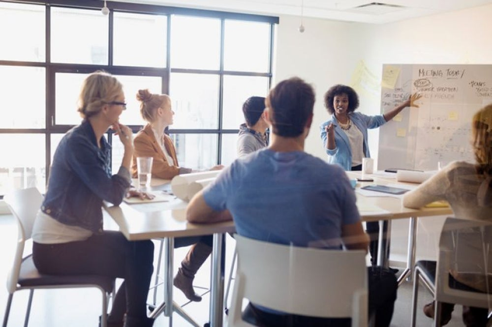 Training new employees and managers