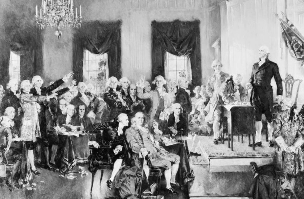 Members of the Constitutional Convention, total party animals