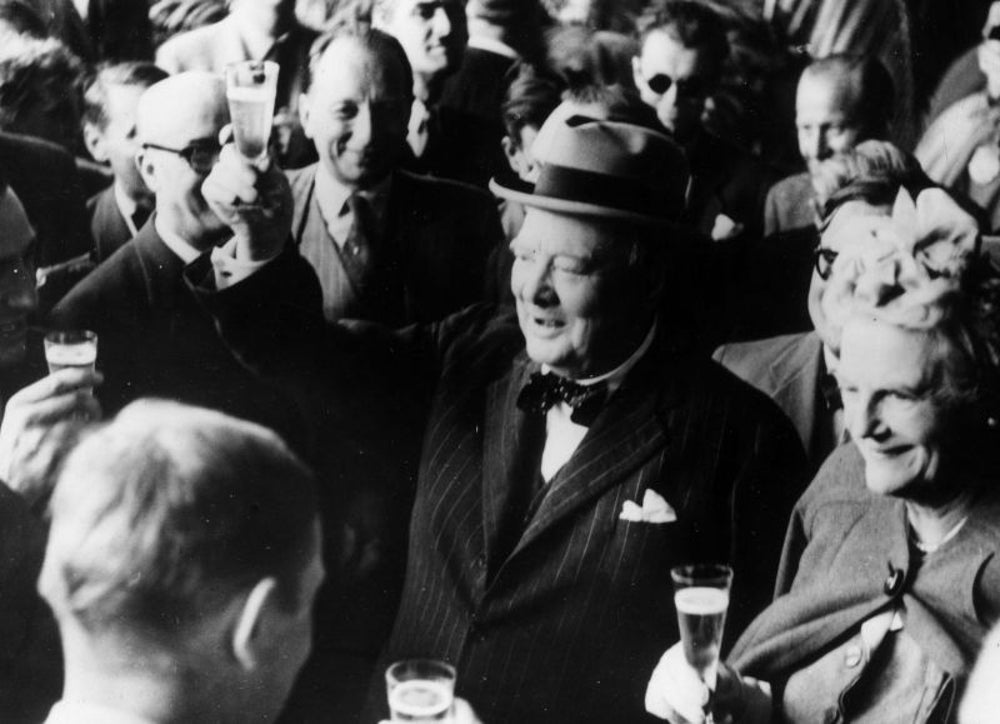 Winston Churchill, total party animal