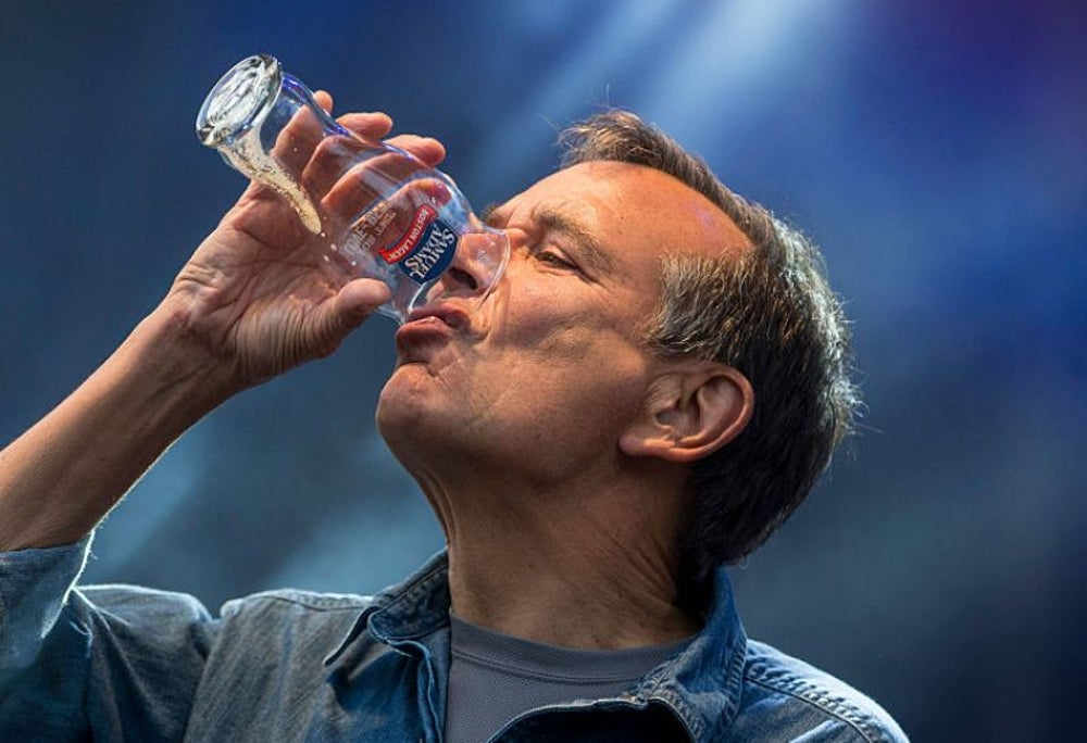 Jim Koch, tipsy