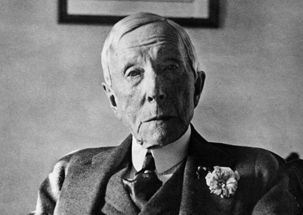 John D. Rockefeller, teetotaler