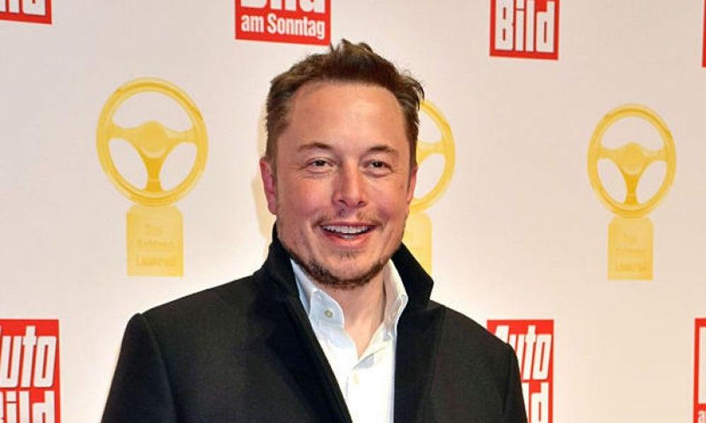 Elon Musk, tipsy